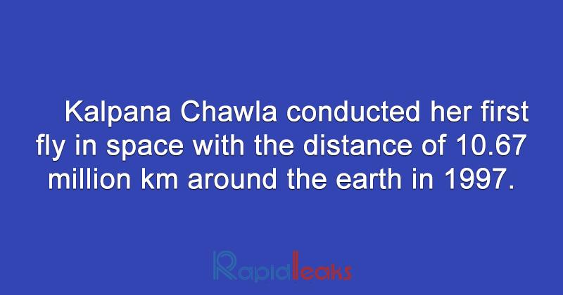 Kalpana Chawla  8